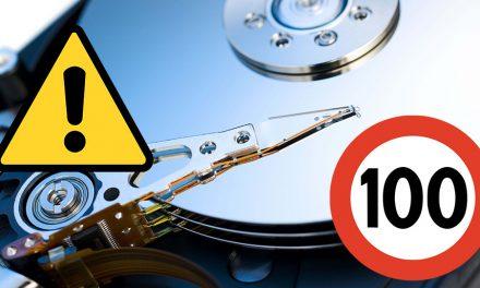 Comment faire pour empêcher l'utilisation du disque dur à 100%