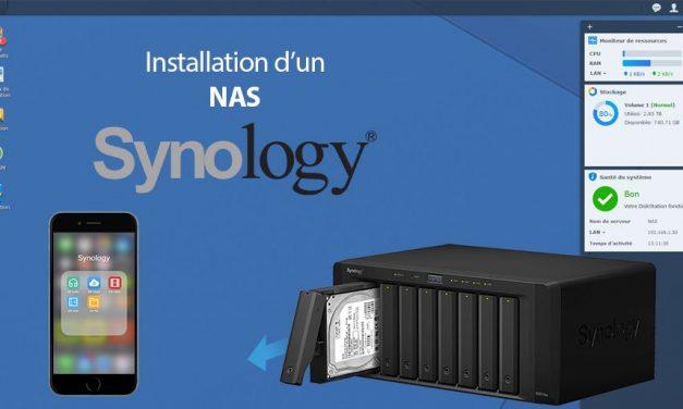 Installer son NAS Synology