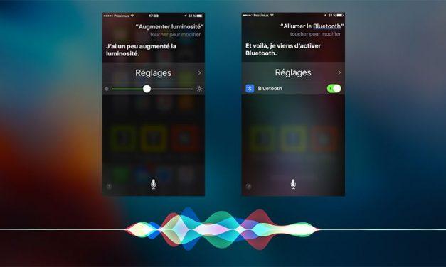 Comment faire pour modifier les paramètres Iphone via Siri