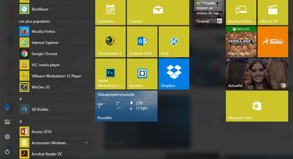 Comment sauvegarder et restaurer le menu Démarrer dans Windows 10