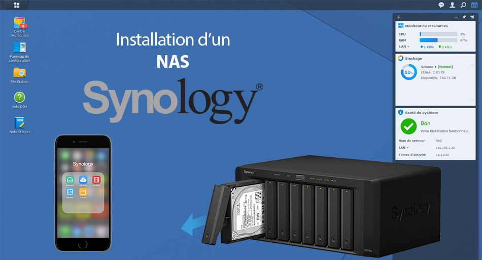 Photo of Installer son NAS Synology