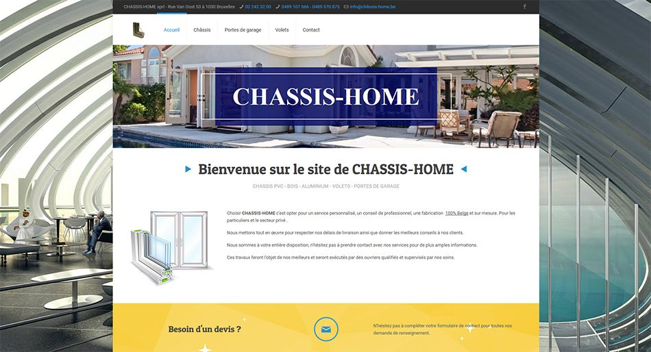 Photo of Chassis Home